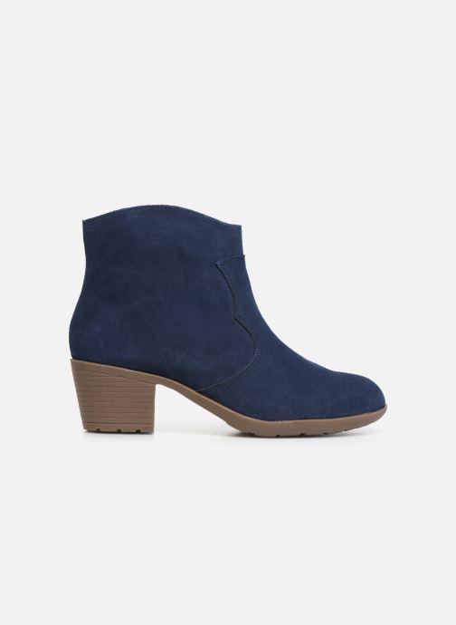 Bottines et boots Damart Maria Bleu vue derrière