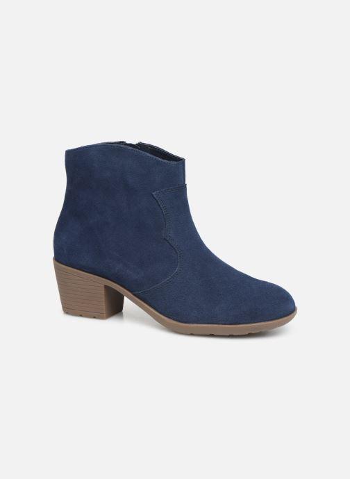 Bottines et boots Damart Maria Bleu vue détail/paire