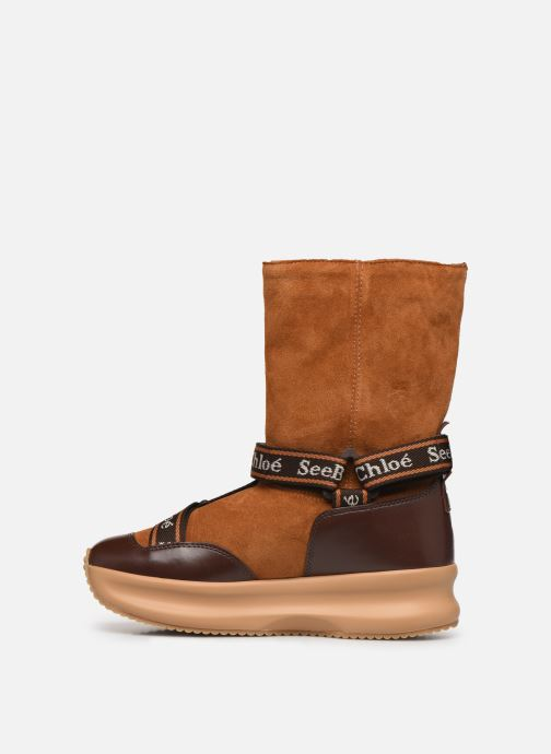 Bottines et boots See by Chloé Maggie Marron vue face