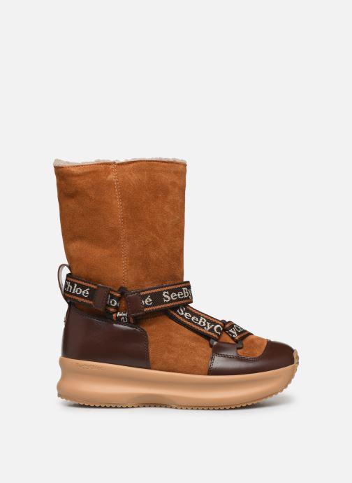 Bottines et boots See by Chloé Maggie Marron vue derrière