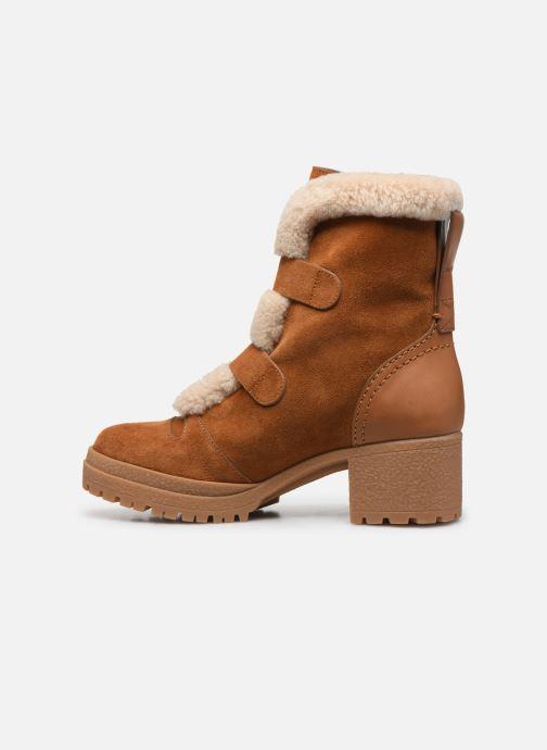 Bottines et boots See by Chloé Brandie Marron vue face