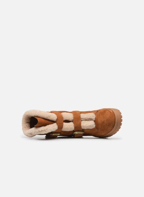 Bottines et boots See by Chloé Brandie Marron vue gauche