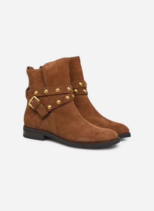Bottines et boots See by Chloé Neo Janis Marron vue 3/4