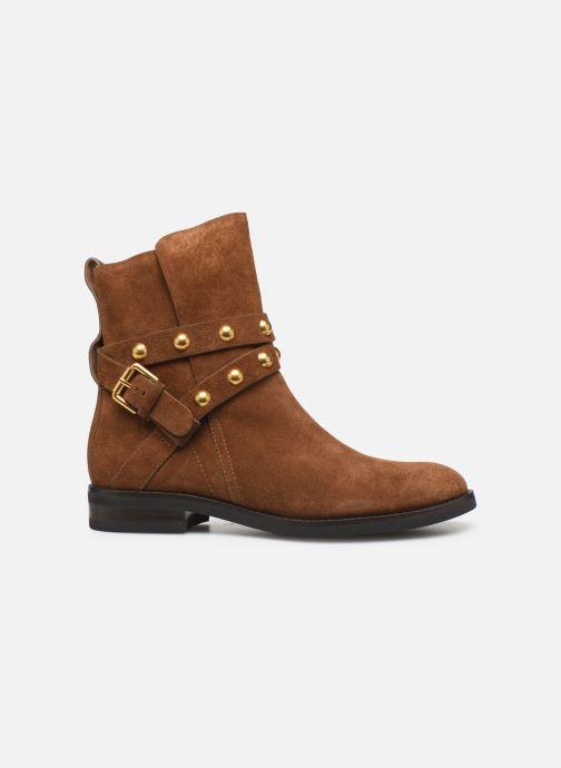 Boots en enkellaarsjes See by Chloé Neo Janis Bruin achterkant