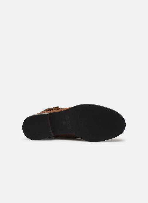 Bottines et boots See by Chloé Neo Janis Marron vue haut