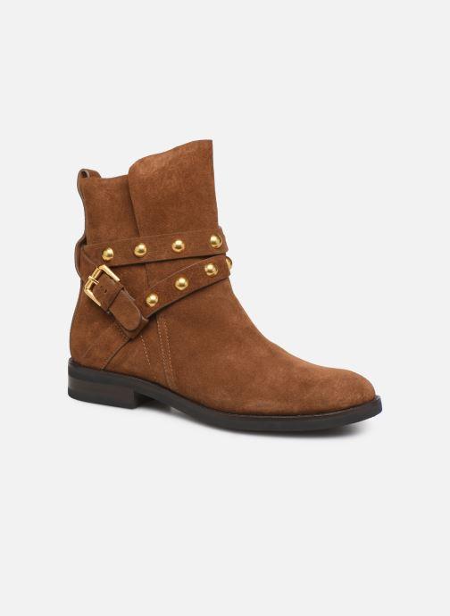 Boots en enkellaarsjes See by Chloé Neo Janis Bruin detail