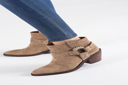 Boots en enkellaarsjes See by Chloé F Eddie Beige onder