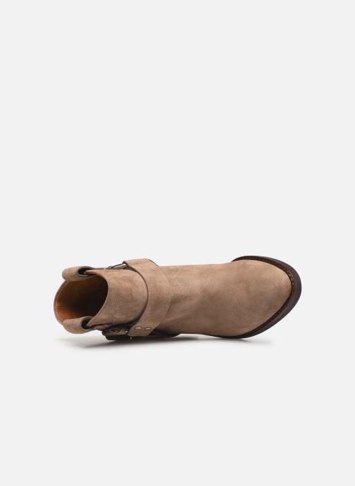 Bottines et boots See by Chloé F Eddie Beige vue gauche