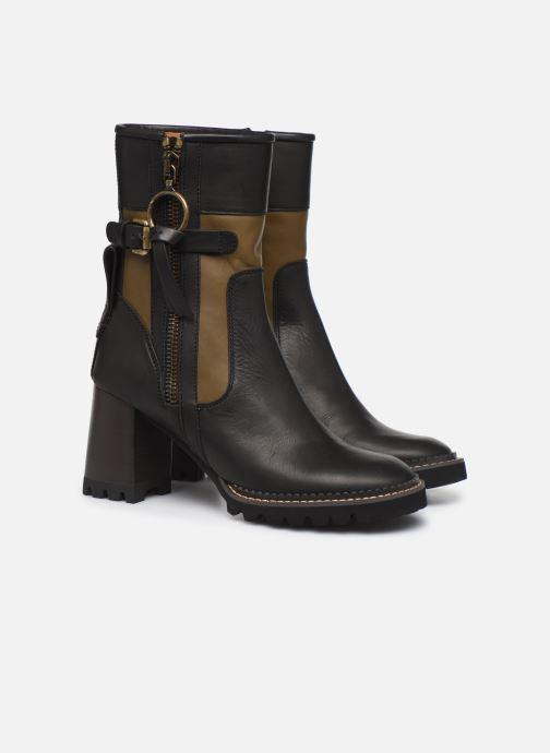 Boots en enkellaarsjes See by Chloé Bryn Zwart 3/4'