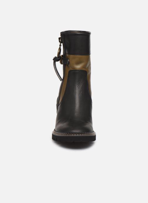 Boots en enkellaarsjes See by Chloé Bryn Zwart model