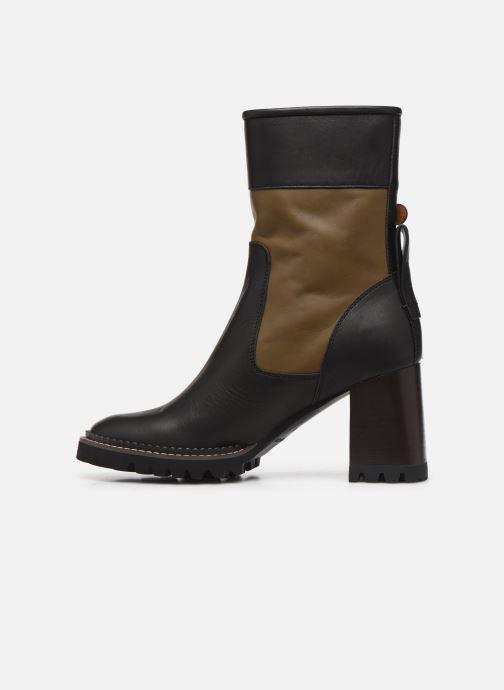 Boots en enkellaarsjes See by Chloé Bryn Zwart voorkant