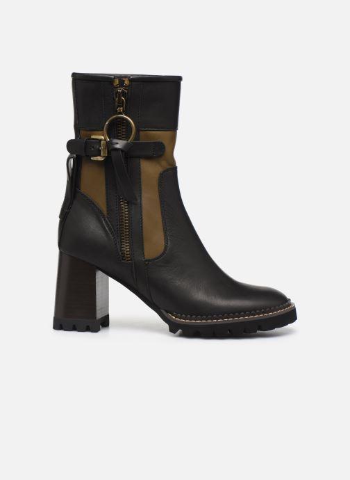 Boots en enkellaarsjes See by Chloé Bryn Zwart achterkant