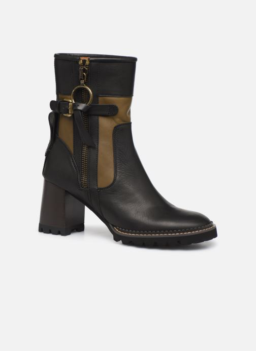 Boots en enkellaarsjes See by Chloé Bryn Zwart detail