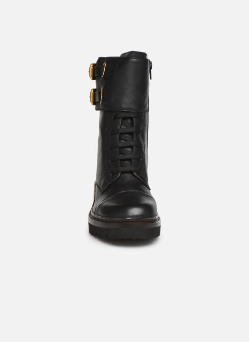 Bottines et boots See by Chloé Mallory Boot Noir vue portées chaussures