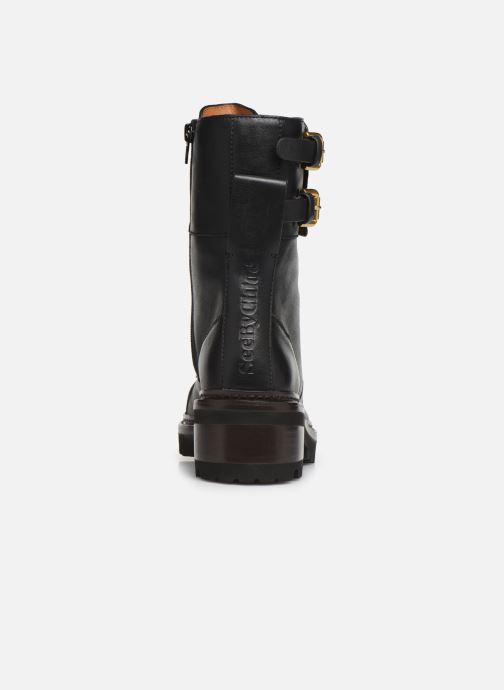 Bottines et boots See by Chloé Mallory Boot Noir vue droite