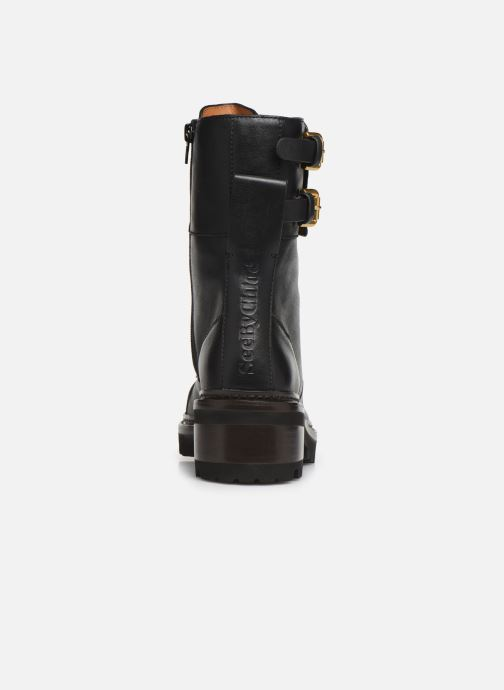 Botines  See by Chloé Mallory Boot Negro vista lateral derecha