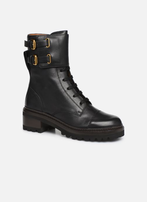 Ankle boots See by Chloé Mallory Boot Black detailed view/ Pair view