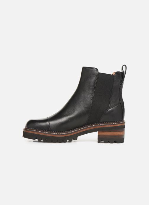 Bottines et boots See by Chloé Mallory Chelsea Noir vue face