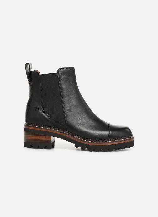 Bottines et boots See by Chloé Mallory Chelsea Noir vue derrière
