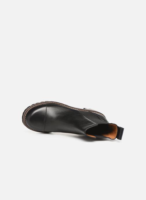 Bottines et boots See by Chloé Mallory Chelsea Noir vue gauche