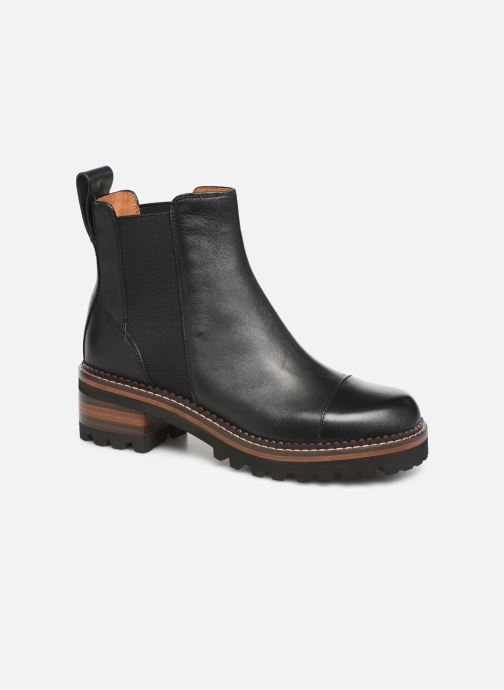 Bottines et boots See by Chloé Mallory Chelsea Noir vue détail/paire