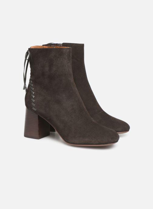Boots en enkellaarsjes See by Chloé Reese Bruin 3/4'