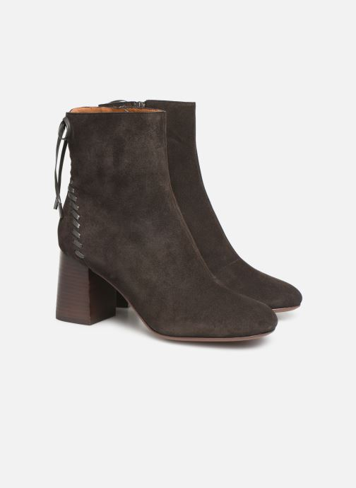 Bottines et boots See by Chloé Reese Marron vue 3/4