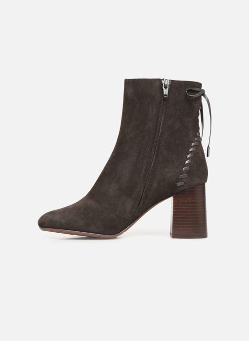 Boots en enkellaarsjes See by Chloé Reese Bruin voorkant
