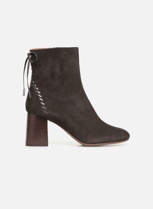Boots en enkellaarsjes See by Chloé Reese Bruin achterkant