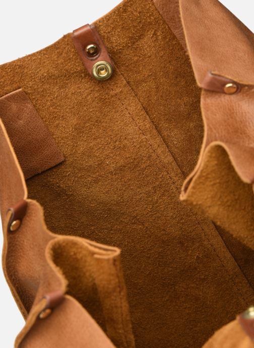 Handtaschen Georgia Rose Nadilo Leather braun ansicht von hinten