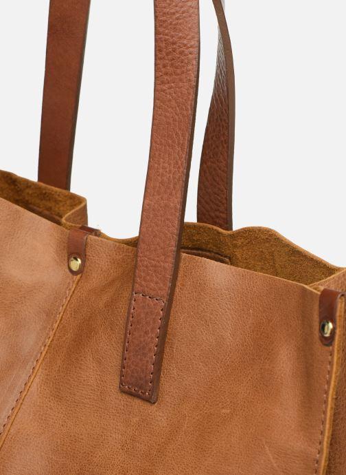 Handtaschen Georgia Rose Nadilo Leather braun ansicht von links