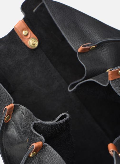 Bolsos de mano Georgia Rose Nadilo Leather Negro vistra trasera