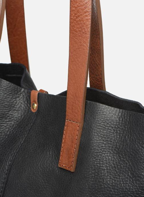Sacs à main Georgia Rose Nadilo Leather Noir vue gauche