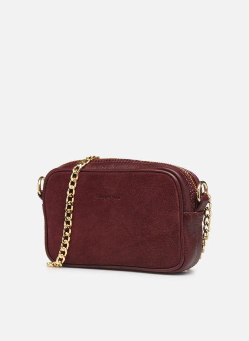 Handtassen Georgia Rose Noceta Leather Bordeaux model