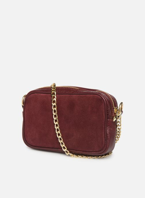 Sacs à main Georgia Rose Noceta Leather Bordeaux vue droite