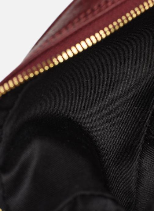 Sacs à main Georgia Rose Noceta Leather Bordeaux vue derrière