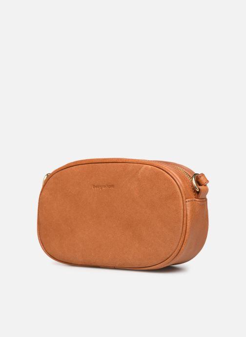 Handtassen Georgia Rose Nabinaud Leather Bruin model