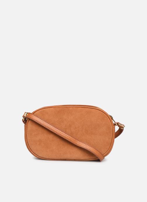 Håndtasker Georgia Rose Nabinaud Leather Brun se forfra