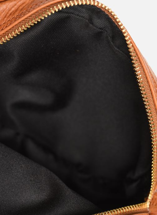Handtassen Georgia Rose Nabinaud Leather Bruin achterkant
