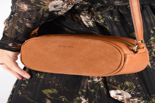 Sacs à main Georgia Rose Nabinaud Leather Marron vue bas / vue portée sac