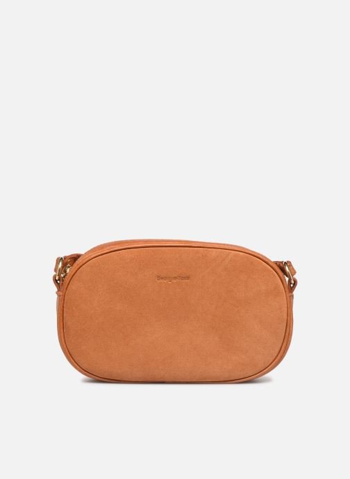Handtassen Georgia Rose Nabinaud Leather Bruin detail