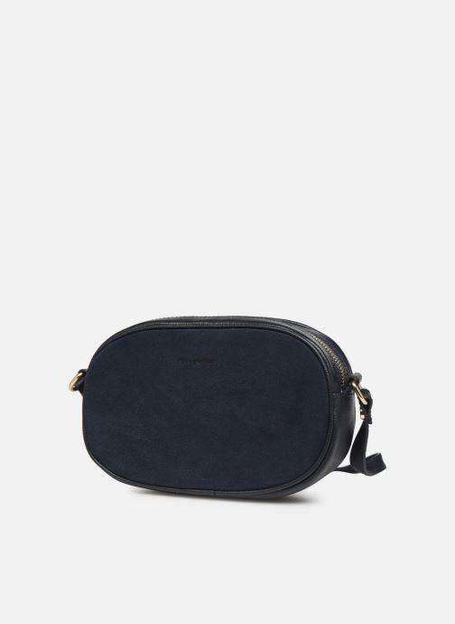 Handtaschen Georgia Rose Nabinaud Leather blau schuhe getragen
