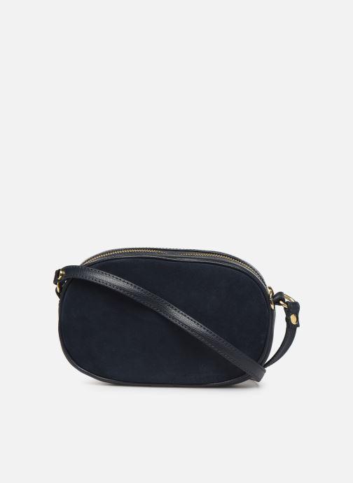 Handtaschen Georgia Rose Nabinaud Leather blau ansicht von vorne