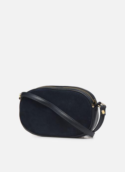 Handtaschen Georgia Rose Nabinaud Leather blau ansicht von rechts
