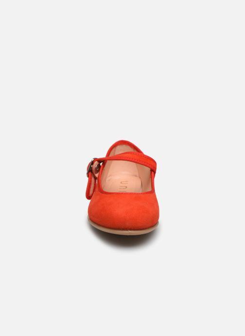 Ballerinas Unisa Seyla orange schuhe getragen