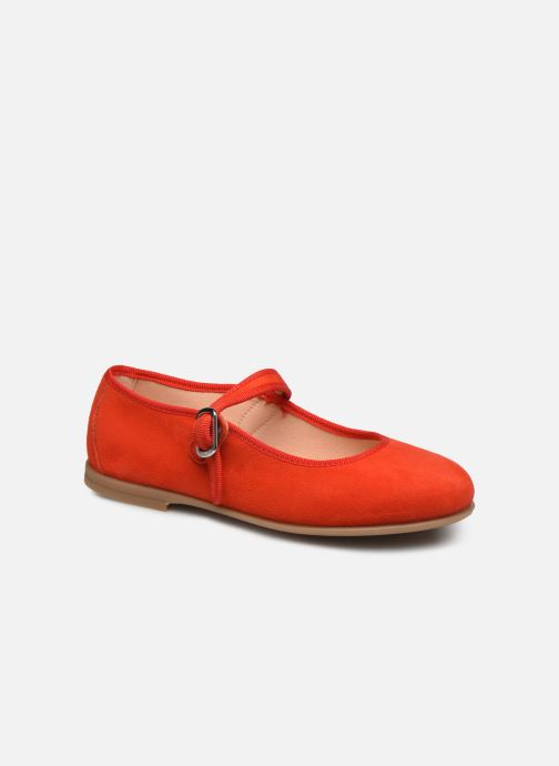 Ballerines Unisa Seyla Orange vue détail/paire