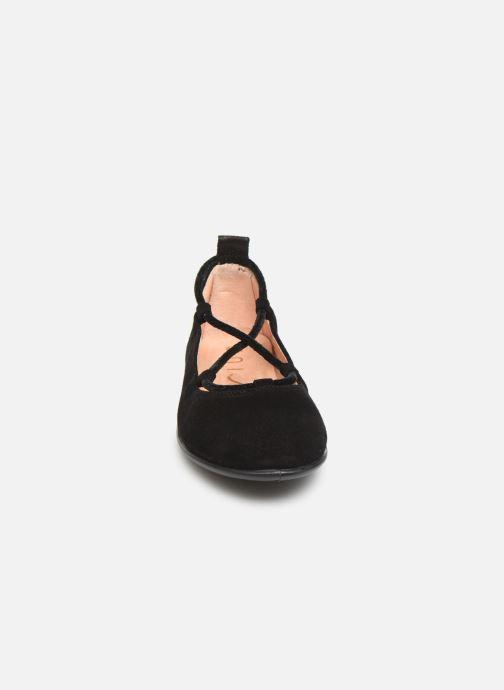 Ballerines Unisa Seimy Noir vue portées chaussures