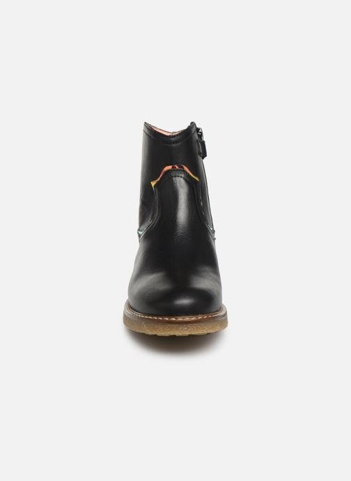 Bottines et boots Unisa Nolan Noir vue portées chaussures