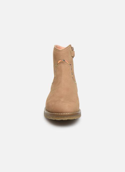 Bottines et boots Unisa Nolan Marron vue portées chaussures
