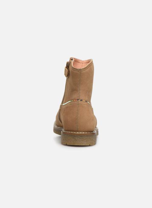 Bottines et boots Unisa Nolan Marron vue droite